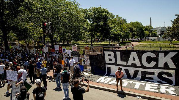 ABD'de ırkçılık karşıtı protesto