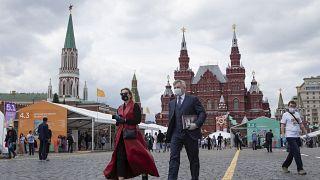 Красная площадь открыта для прогулок с 9-го июня