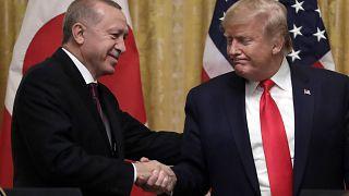 من لقاء جمع ترامب بإردوغان في البيت الأبيض في 2019