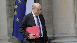 وزير خارجية فرنسا جان-إيف لودريان
