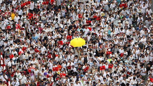 Movimento pró-democracia de Hong Kong assinala um ano