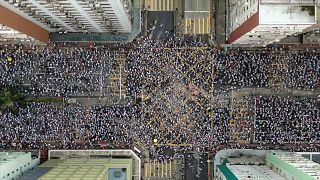 مظاهرات في هونج كونج
