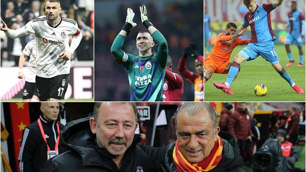 Süper Lig'in son 8 haftasında kalan maçlar