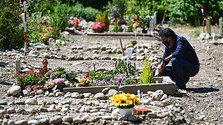 İtalya'da bir mezarlık