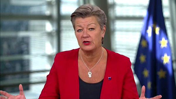 Euronews Brussels, European Commissioner, Home Affairs, Ylva Johansson, June 9 2020