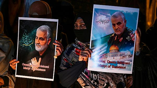 İran Kudüs Gücü Komutanı Kasım Süleymani