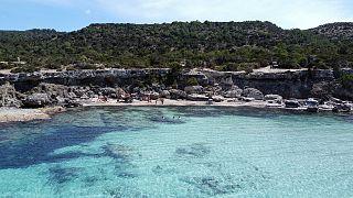 La penisola di Akamas sulla costa occidentale di Cipro il 31 maggio 2020