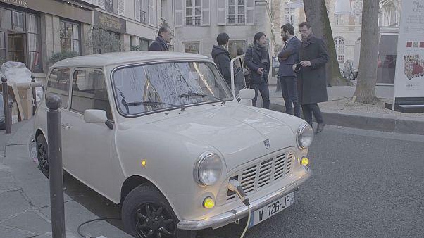 Une des Mini électriques mises au point par la société française Ian Motion