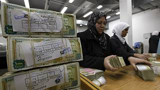The Syrian pound has crashed to its lowest levels in recent days against the U.S. dollar