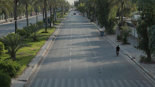 خیابانهای خالی بغداد