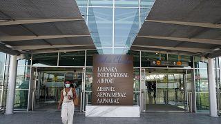 Larnaka Airport, Cyprus