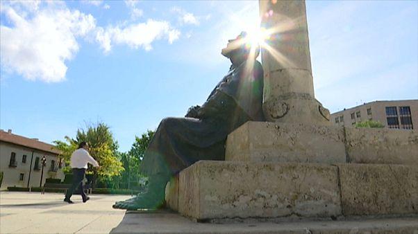 Escultura en el Camino de Santiago - TVE