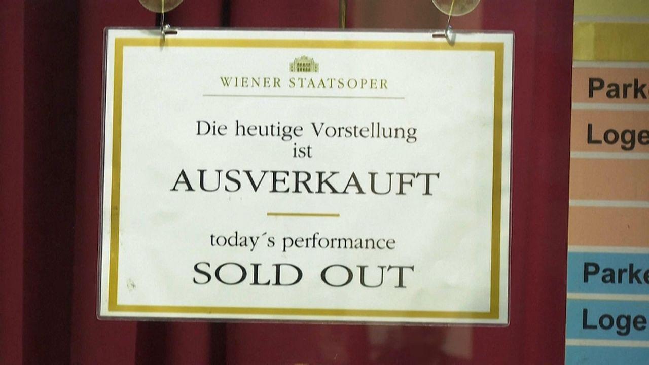Венская опера: все билеты проданы!