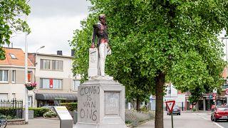 Statue in Antwerpen