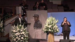 Último y emotivo funeral por George Floyd