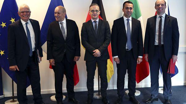 وزراء خارجية دول الاتحاد الأوروبي