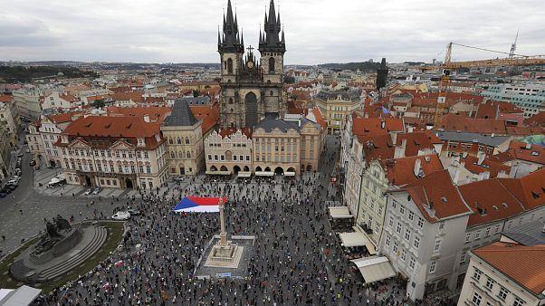 Πράγα: Νέα διαδήλωση κατά του πρωθυπουργού Αντρέι Μπάμπις