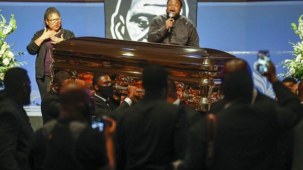 Η κηδεία του Τζορτζ Φλόιντ