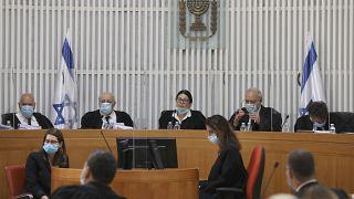 من داخل قاعة المحكمة العليا في إسرائيل