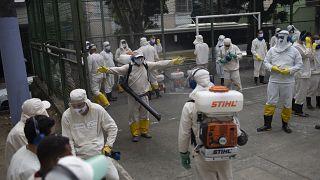 تخطى عدد الوفيات في البرازيل 38 ألفاً الثلاثاء 9 حزيران/يونيو