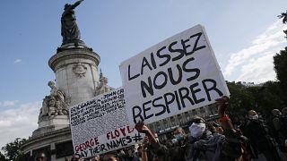George Floyd : un nouvel hommage chargé en émotion à Paris