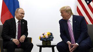 Rusya Devlet Başkanı Vladimir Putin / ABD Başkanı Donald Trump