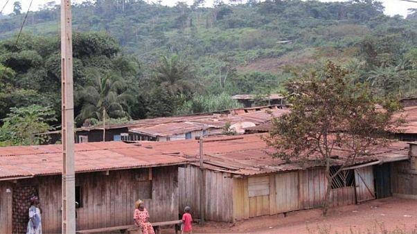 اهالی یک روستا در گابن