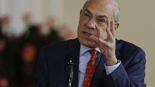 Jose Angel Gurria secretary-general of the Organisation for Economic Co-operation and Development, OECD, on Oct. 24, 2019.