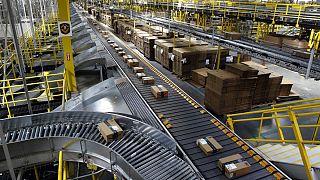 Amazon center in Baltimore