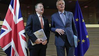 Auf ein Neues: Achte Runde der Brexit-Gespräche in London