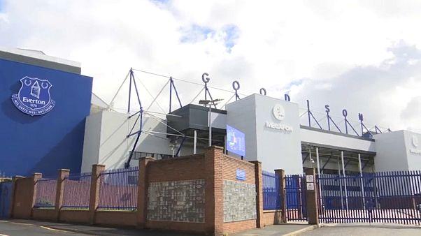"""Стадион """"Гудисон-парк"""" в Ливерпуле"""