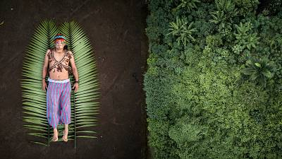 José is one of the leaders of the Achuar indigenous people in the Sharamentsa community. He defends his rainforest by generating collaborative projects.