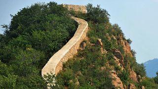 A kínai nagy fal egy kevéssé ismert szakasza (illusztráció)