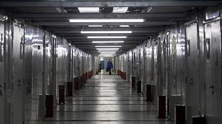 L'ospedale di Leishenshan, a Wuhan: è stato costrutito in due settimane per fronteggiare l'emergenza