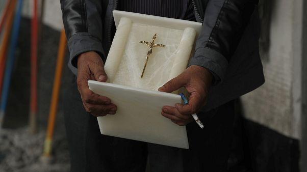 Meksika'da bir cenaze kül kabı (arşiv)