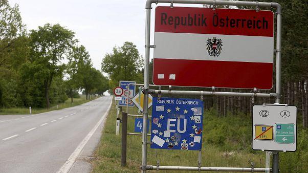 Grenze zwischen Österreich und Tschechien