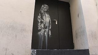 Banksy-Tür in Teramo