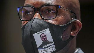 Philonise Floyd, le frère de George, témoigne devant une commission judiciaire du Congrès, à Washington, le 10 juin 2020