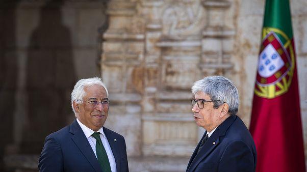 António Costa e Ferro Rodrigues nas celebrações do 10 de Junho