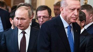 الرئيسان بوتين وأردوغان