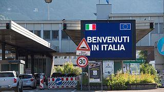 Grenze zu Italien