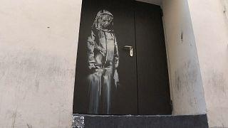 Произведение Бэнкси в Париже