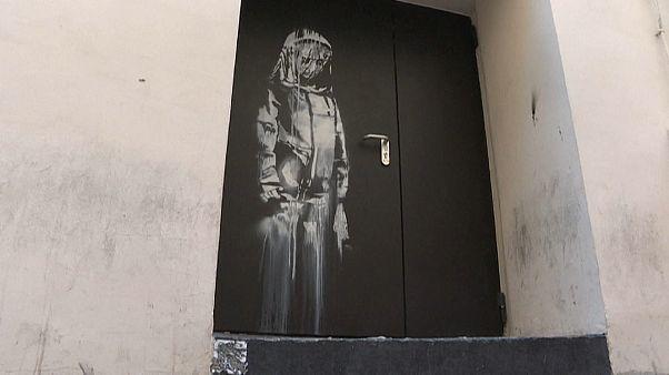 Dal Bataclan all'Abruzzo: il viaggio del 'Banksy trafugato'
