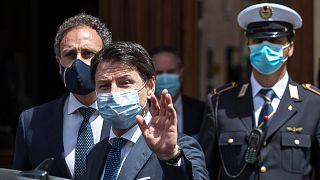الرئيس الإيطالي جيوسيبي كونتي