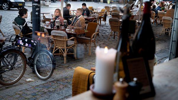 Restaurantterrasse in Kopenhagen