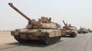 تانکهای فرانسوی که به عربستان فروخته شده است