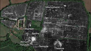 Antik Roma kenti radar tarama yöntemiyle gün yüzüne çıkarıldı