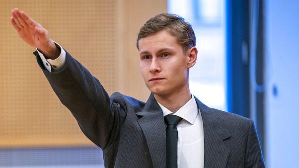 22 yaşındaki Philip Manshaus 21 yıl ağır hapse mahkum edildi.