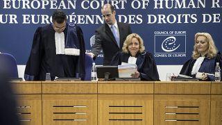 صورة من الأرشيف من قلب مقر محكمة العدل الأوروبية لحقوق الإنسان
