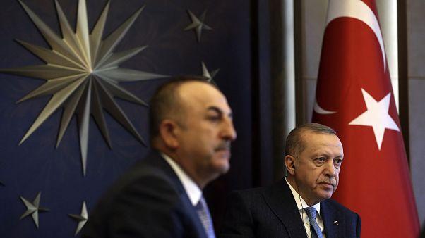 Cavusoglu and Erdogan